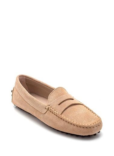 Derimod Kadın Loafer(0-Ay1033-6166) Casual Bej